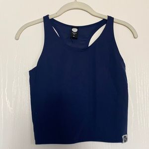 GTS Clothing Navy Infinity Crop Top
